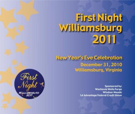 First Night Willliamsburg